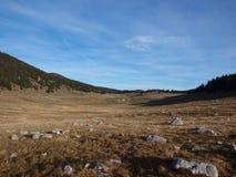 Het plateau van Vercors, Frankrijk. Stock Foto
