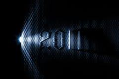 Het plateren van het metaal en het jaar van 2011 Stock Afbeelding