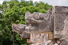 Het Platform Chichen Itza Mexico van het Venus Stock Foto's