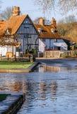 Het platteland het UK van Kent Stock Afbeelding