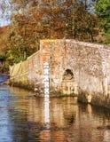 Het platteland het UK van Kent Stock Fotografie