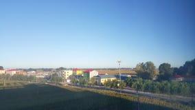 Het platteland van China in het noordoosten royalty-vrije stock foto's