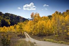 Het platteland van de herfst royalty-vrije stock fotografie