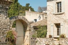 Het platteland van de Provence dichtbij Avignon Royalty-vrije Stock Afbeelding
