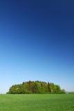 Het platteland van de zomer stock foto