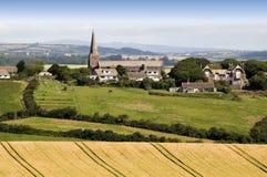 Het platteland van Devon stock afbeelding