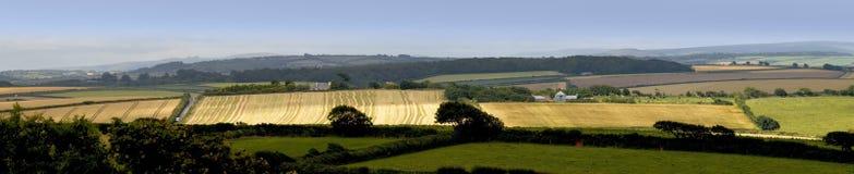 Het platteland van Devon stock fotografie