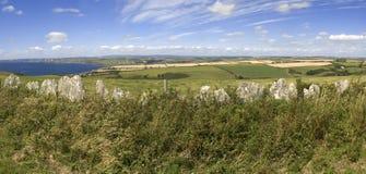 Het platteland van Devon royalty-vrije stock foto