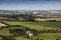 Het platteland van Devon royalty-vrije stock afbeelding
