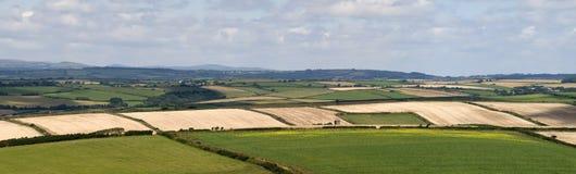 Het platteland van Devon royalty-vrije stock afbeeldingen