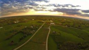 Het platteland van Kentucky stock footage