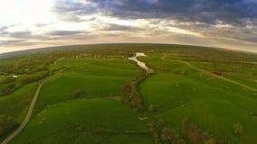 Het platteland van Kentucky stock videobeelden