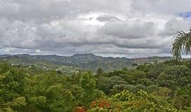 Het platteland van Puerto Rico Stock Afbeeldingen