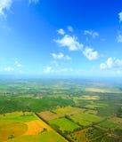 Het platteland van Sardinige op een duidelijke dag stock fotografie