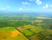 Het platteland van Sardinige op een duidelijke dag royalty-vrije stock foto
