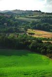 Het platteland van Toscanië Stock Afbeeldingen