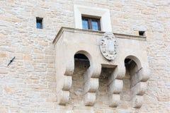 Het platteland van Toscanië, San Gimignano, Italië Stock Foto's