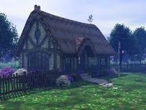 Het plattelandshuisje Royalty-vrije Stock Afbeeldingen
