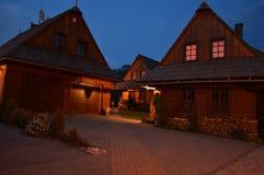 Het plattelandshuisje Stock Afbeelding