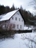 Het plattelandshuisje Hradecek van Havel´s van Vaclav Royalty-vrije Stock Foto's