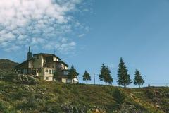 Het plattelandshuisje van de berg Royalty-vrije Stock Afbeelding