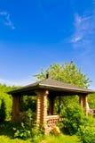 Het plattelandshuisje van de grill Royalty-vrije Stock Foto's