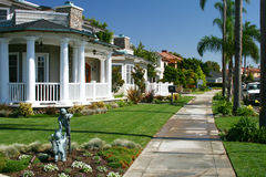 Het Plattelandshuisje van de luxe - Coronado, Californië royalty-vrije stock foto