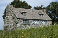 Het Plattelandshuisje van de steen in Meer Okoboji, Iowa Royalty-vrije Stock Foto