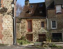 Het plattelandshuisje van de steen in nFrance Royalty-vrije Stock Foto