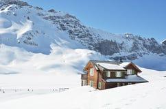 Melchsee-Frutt, Zwitserland stock foto's