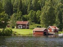 Het plattelandshuisje van de zomer Royalty-vrije Stock Foto