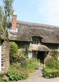 Het plattelandshuisje van het Dal van Thornton stock afbeelding