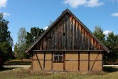 Het plattelandshuisjehuis stock fotografie