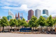 Het Plein - το μεγάλο τετράγωνο στη Χάγη Στοκ εικόνα με δικαίωμα ελεύθερης χρήσης