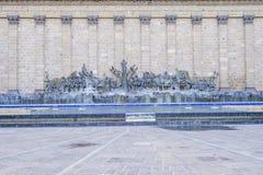 Het Plein Fundadores in Guadalajara stock afbeeldingen