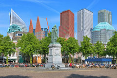 Het Plein Square in The Hague, Netherlands Royalty Free Stock Photos