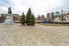 Het Plein-vierkant, centrum van Den Haag Royalty-vrije Stock Afbeelding