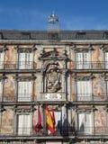 Het pleinburgemeester van Madrid Stock Fotografie