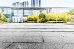 Het Pleingrond van het Jiangyin Culturele Centrum Stock Fotografie