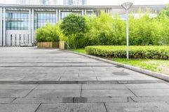 Het Pleingrond van het Jiangyin Culturele Centrum Royalty-vrije Stock Foto