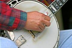 Het plukken van de banjo Royalty-vrije Stock Fotografie