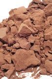 Het poeder van de cacao stock foto