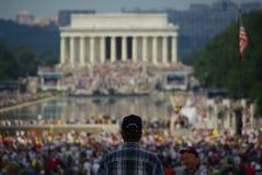 Het Politieke Protest van gelijkstroom royalty-vrije stock fotografie
