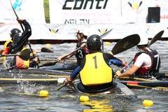 Het polo van de kano Royalty-vrije Stock Foto