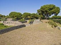 Het Pompei Royalty-vrije Stock Afbeeldingen