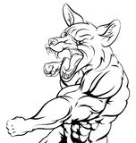 Het ponsen van vossporten Stock Afbeelding
