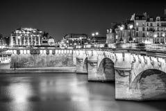 Het 'Pont-Neuf' Stock Foto's