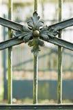 Het poortdetail van het ijzer royalty-vrije stock foto