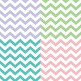 Het populaire patroon van de zigzagchevron Royalty-vrije Stock Afbeeldingen