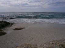 Het populaire strand Arutas Stock Afbeelding